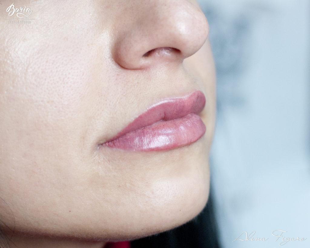 растениям татуаж контура губ белым фото бельгии